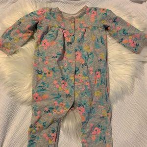 Carter's Floral Jumpsuit 9 Months